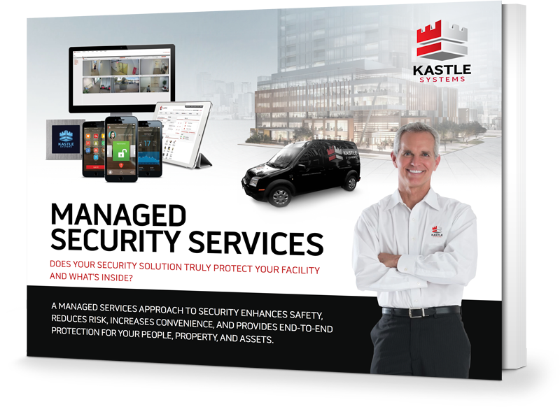 Managed Security Services eBook cover