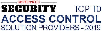 Enterprise Security Top 10 Access Control Provider logo